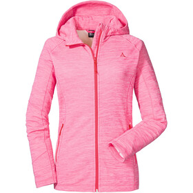 Schöffel Trentino1 Hoodie Forro Polar Mujer, rosa